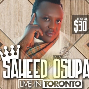 ALL WHITE AFFAIRS WITH KING  SAHEED OSUPA LIVE IN TORONTO