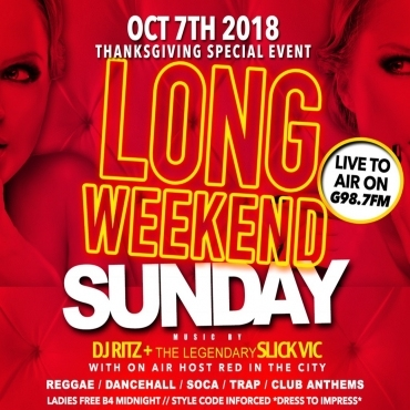 SUGAR DADDYS LONG WEEKEND SUNDAY *LADIES FREE BEFORE MIDNIGHT*