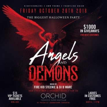 Orchid Night Club Angels & Demons