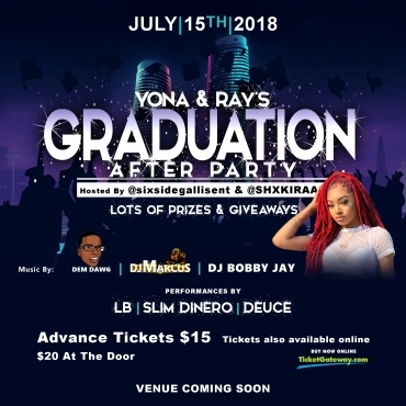 YONA & RAY'S GRADUATION AFTER PARTY