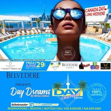 DAY DREAMS - ALL WHITE @ Cabana