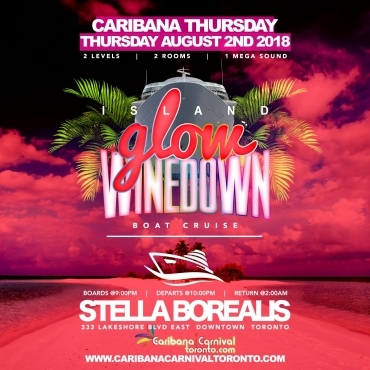 Island Glow Winedown Boat Cruise | Glow Fete - Aug 2nd | Caribana Thursday