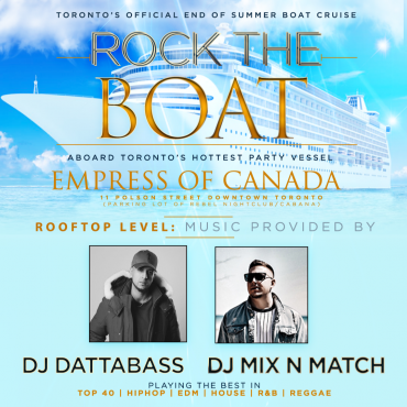 Rock The Boat: Rooftop Cruise Party