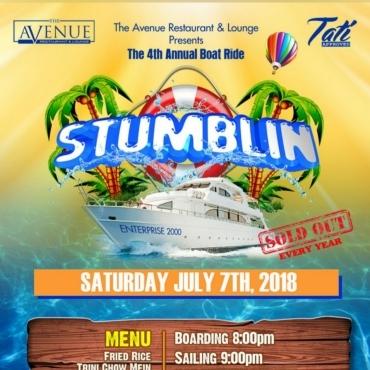 STUMBLIN BOAT RIDE 2018