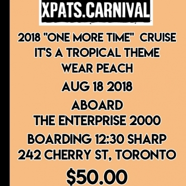 Xpats -one More Time Boat Cruise 2018
