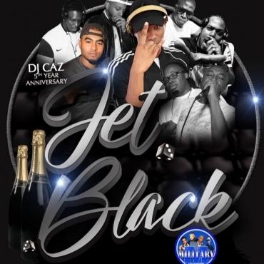 Jet Black \ Dj Caz 5th Anniversary