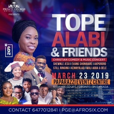 Tope Alabi And Friends