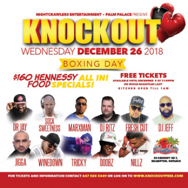 KNOCKOUT - Boxing Day