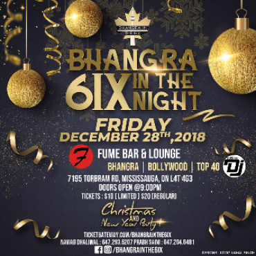 Bhangra & Bollywood In the 6ix - December Edition