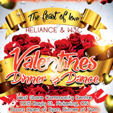 Valentines Dinner and Dance