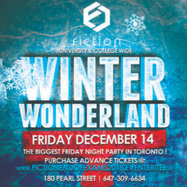 End Of Exams Party @ Fiction Nightclub | Friday Dec 14th