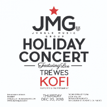 JVNGLE MUSIC GROUP HOLIDAY CONCERT ft. TRÉ WES & KOFI