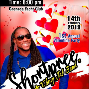 1st Annual Valentines Party -- Shontpnee -- Classy Jab Band