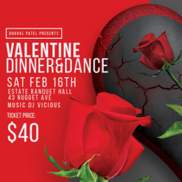 Dhaval Patel - Valentine Dinner and Dance
