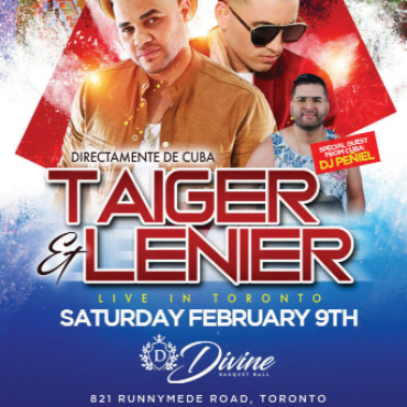 AR Productions - Taiger Lenier LIve In Toronto