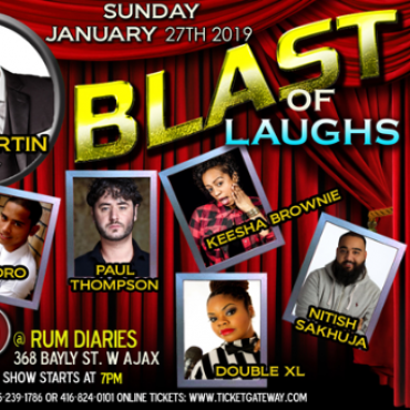 Rum Diaries - Blast Of Laughs 2019