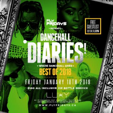 Fly Fridays - DANCEHALL DIARIES