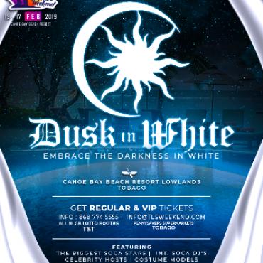 Dusk in White - Embrace Darkness in White - TLS Weekend