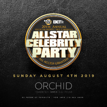 HOT 97/ BET ALL STAR CELEBRITY PARTY