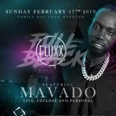 MAVADO LIVE- Fullblack | Fluxx