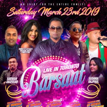 Barsaat Live In Toronto