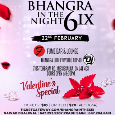 Bhangra In the 6ix - Valentine's Special