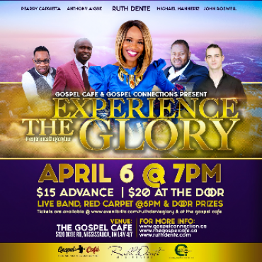 Experience The Glory with Ruth Dente