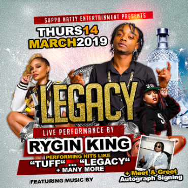 Suppa Natty Ent - Legacy - Live Performance By Rygin King