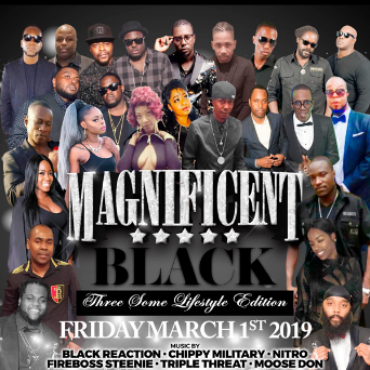 Magnificent - Black - Three Some Lifestyle Edition