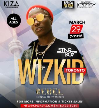Wizkid Live in Toronto