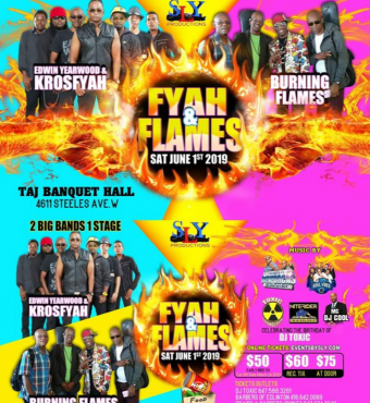 Fyah & Flames Soca Event 2019