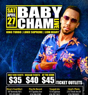 BabyCham - Live