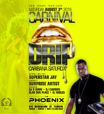 CARNIVAL DRIP : CARIBANA SATURDAY