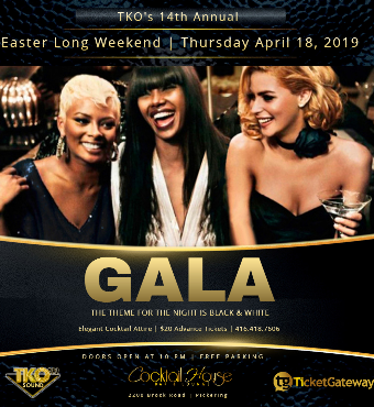 TKO Black & White Easter Thursday Gala
