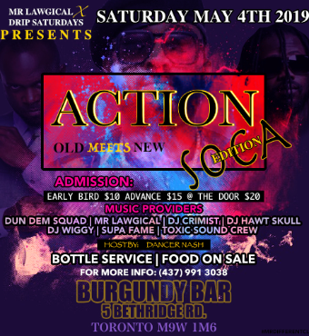 ACTION SOCA - Old Meets New Edition