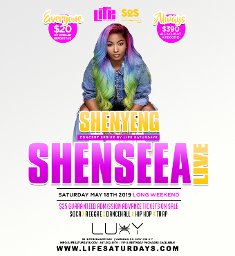 Shenseea Live In Concert | Saturday May 18th