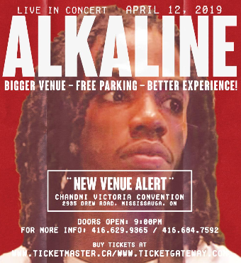 ALKALINE LIVE with FULL BAND in TORONTO | New Venu...