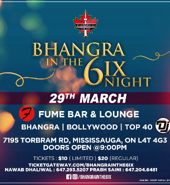 Bhangra In the 6ix Night
