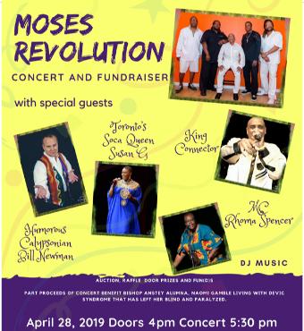 Moses Revolution Concert and Fun(d)raiser