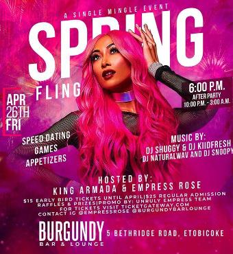 Spring Fling: A Single Mingle Event