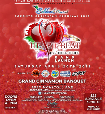 Saldenah Band Launch - Heart Beat The Thrill Of Live