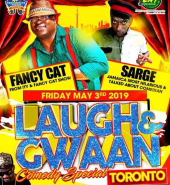 Laugh and Gwaan Comedy Special ft live from Jamaica Fancy Cat and Sarge
