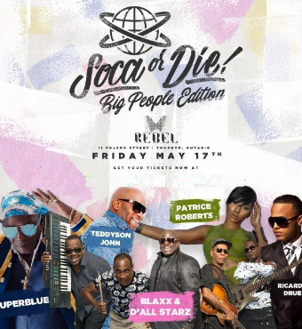 Soca Or Die - Big People Edition