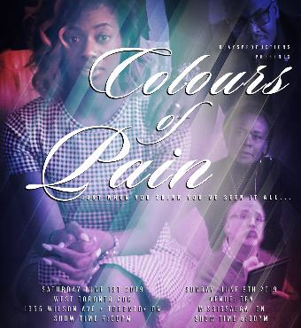 COLOURS OF PAIN - June 1st