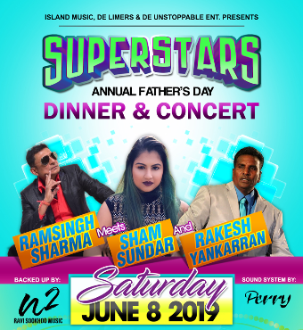 SUPERSTARS - ANNUAL FATHERS DAY / Chutney Show