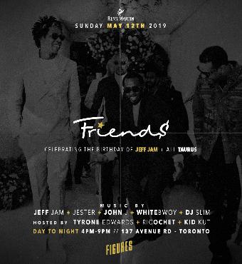 Friends - The Taurus Birthday Celebration
