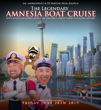 ABC   The Legendary Amnesia Boat Cruise Summer 2019