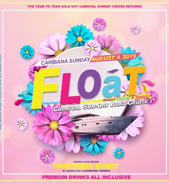 Float - Caribana Sunday Drinks Inclusive Boat Crui...