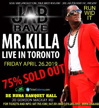 MR KILLA LIVE - Jab Rave 3