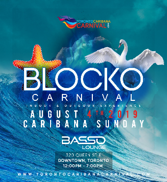 Carnival Blocko | 100% Outdoors | Caribana Sunday | Aug 4th